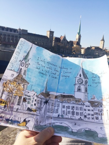 Zurich is a great place to draw.